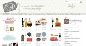 Home  O-Lijf de culinaire cadeau winkel - Windows Internet Explorer - [InPrivate]