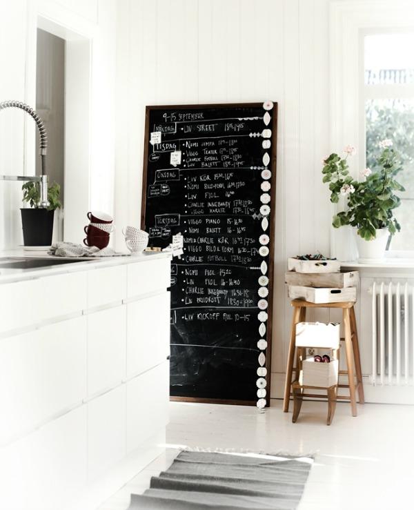 schoolbord-keuken